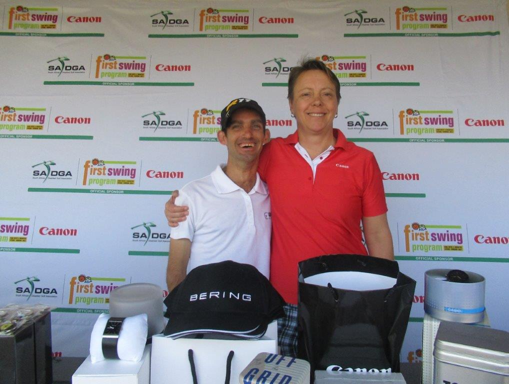 sadga watches unlimited golf day south african disabled golf